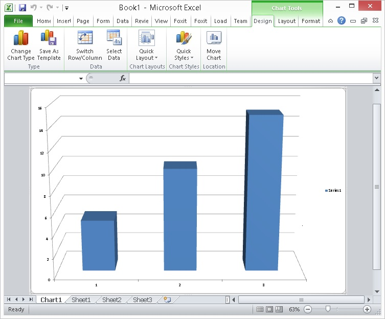 Tutorial Example: How to Access Microsoft Excel (Chart) using the