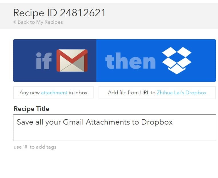 How to Save Gmail Attachments (Backup) to Dropbox Folder