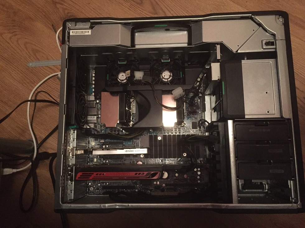 Use Dual Dedicated Graphic Cards on HPZ800 Server: Nvidia