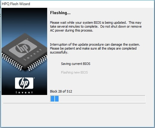 Difference between flashing and updating bios