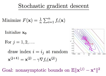 Slow stochastic parameters
