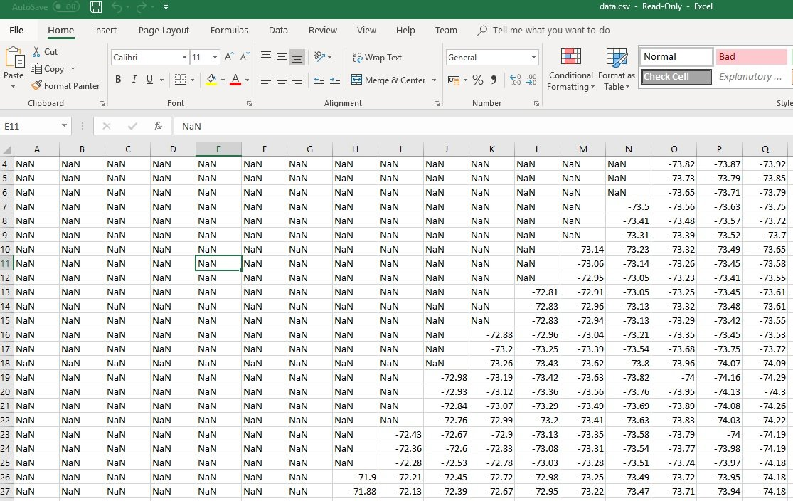 How to Transform the Values in Excel Files to a Column of