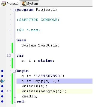 Copy Function in Delphi XE3 | Technology of Computing